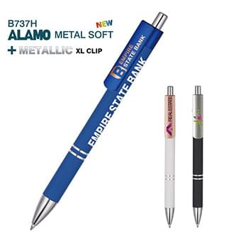 Alamo Metal Pen with Full Color XL Clips