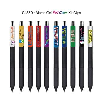 Alamo Gel Pen with Full Color XL Clips